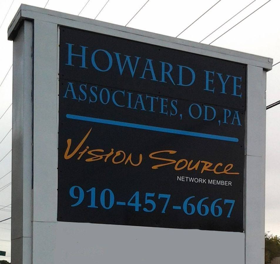 howard eye associates sign